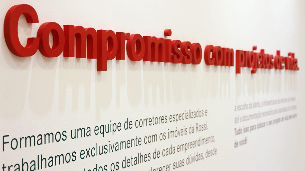 Branding Ambiental Corporativo Construtora Rossi Recepção 2 Refigueiredo