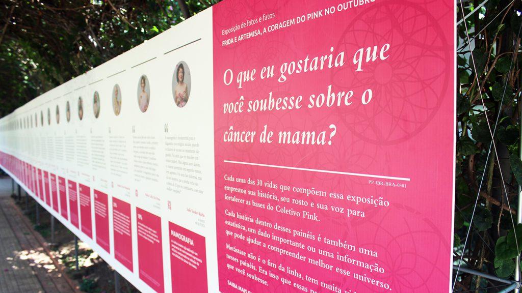Exposição Câncer de Mama Casa das Rosas Refigueiredo