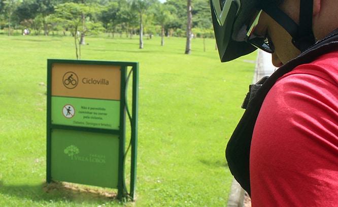 Parque Villa Lobos Ciclovia Refigueiredo