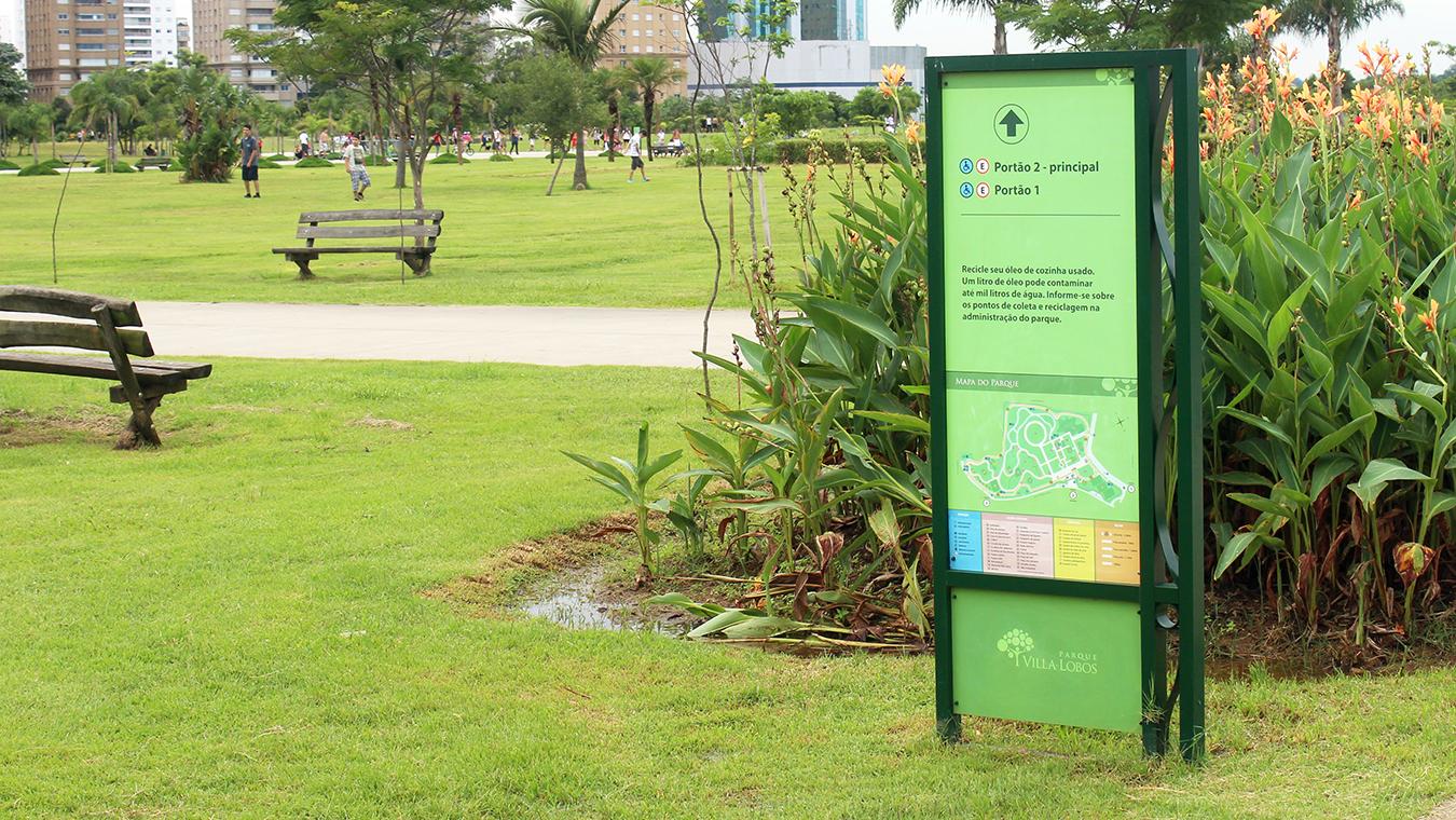 Parque Villa Lobos Sinalização 2 Refigueiredo